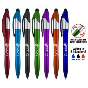 Easton 4 in 1 stylus twist pen